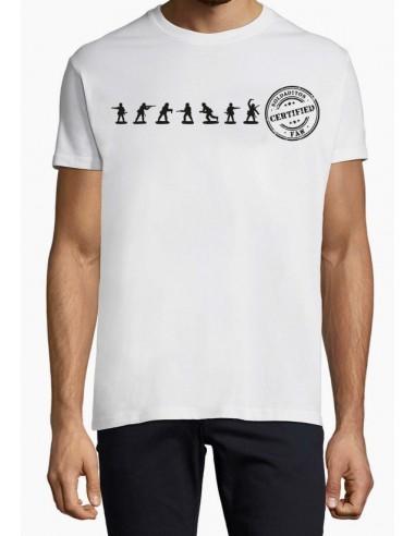 White & Front view KilgoreHD Miniatures T-Shirt